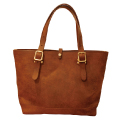 LEATHER TRAVEL TOTE